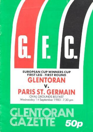 Glentoran-ParisStGermain-14.09.83
