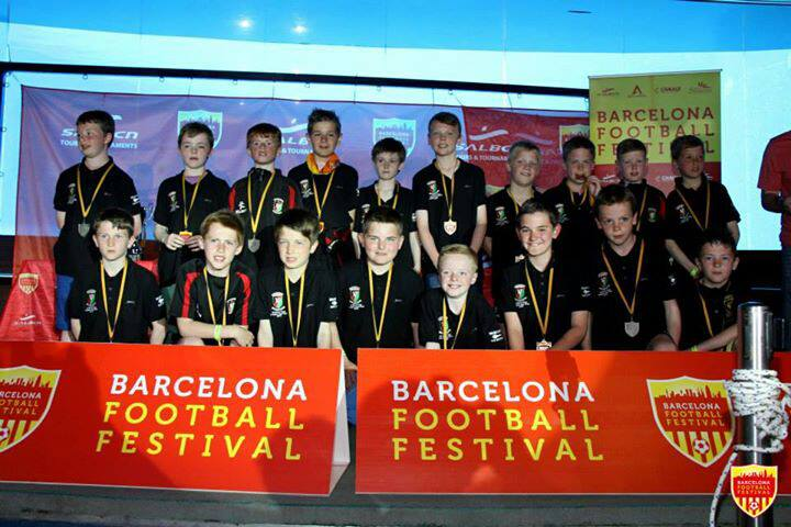 Under 12s Trip to Spain