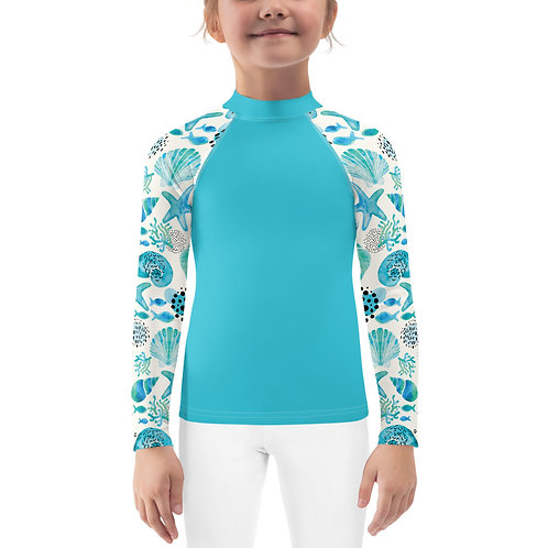 """Shell Shocked"" - Kids Rash Guard"