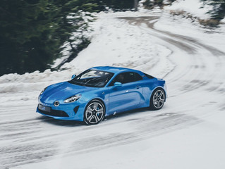 Präsentation der neuen Alpine.