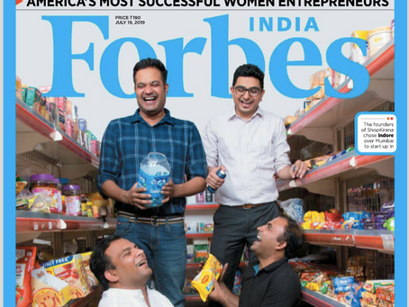 ShopKirana Got Featured on FORBES India Cover Page