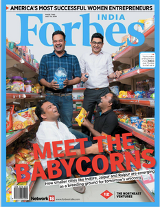 ShopKirana Featured on Forbes Cover page