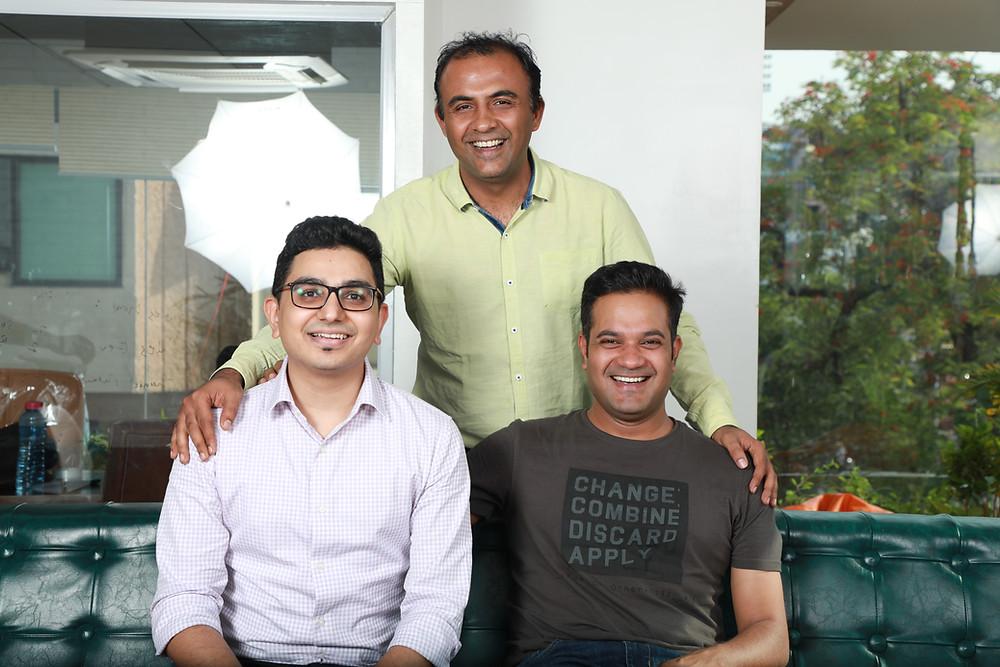 Sumit Ghorawat, Deepak Dhanotiya, Tanutejas Saraswat