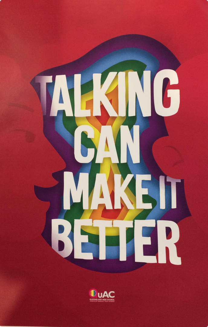 TALKING CAN MAKE IT BETTER
