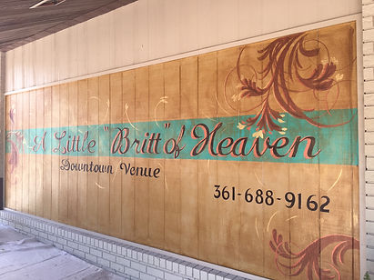 A Little Britt of Heaven mural
