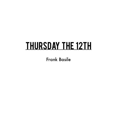 """Thursday the 12th"" composed by Frank Basile (sheet music, pdf download)"