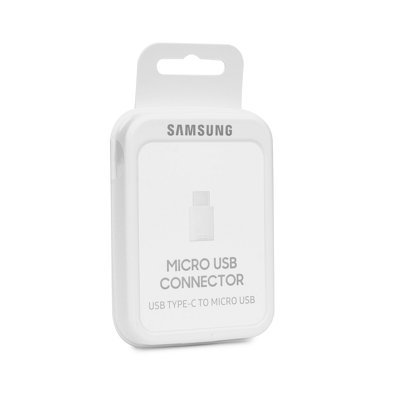 ADAPTATEUR ORIGINAL SAMSUNG EE-GN930BWEGWW Micro USB C - Micro USB BLANC blister