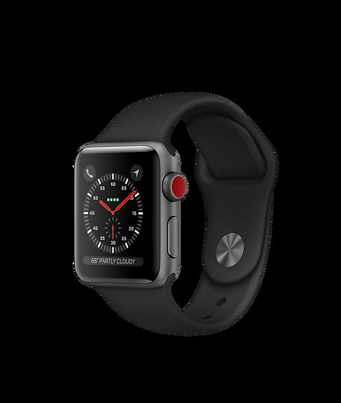 Apple Watch Serie 3 GPS + cellular Boîtier en aluminium gris sidéral 38MM