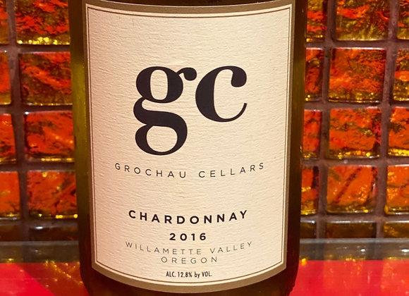 Chardonnay, Grochau Cellars, Willamette Valley, Oregon 2016