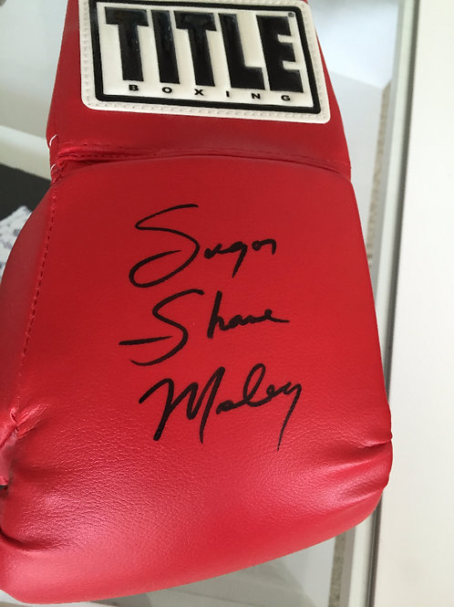 Official Personally Inscribed Glove
