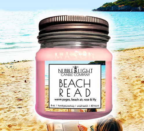 BEACH READ 8oz. Scented Soy Candle