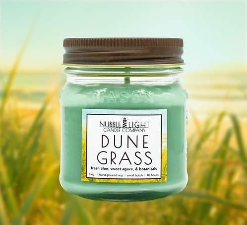 DUNE GRASS 8oz. Scented Soy Candle
