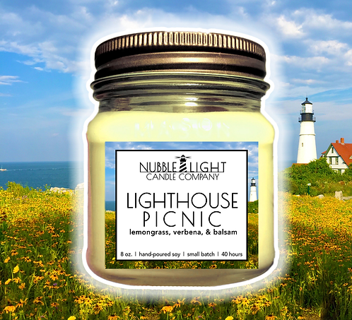 LIGHTHOUSE PICNIC 8oz. Scented Soy Candle