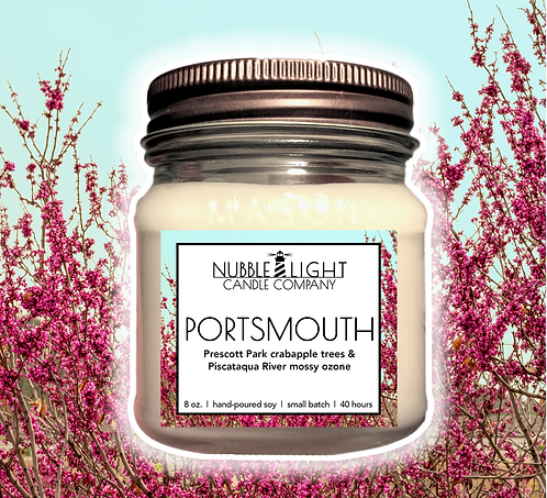 PORTSMOUTH 8oz. Scented Soy Candle