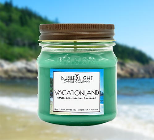 VACATIONLAND 8oz. Scented Soy Candle