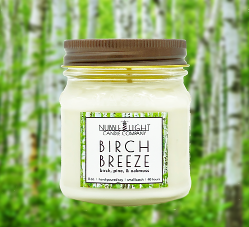 BIRCH BREEZE 8oz. Scented Soy Candle