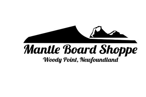 Mantle Board Shoppe Logo Sticker