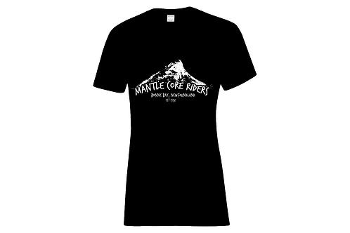 Mantle Core Riders Reef Logo Ladies T-shirt