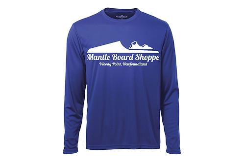 Mantle Board Shoppe Logo Long Sleeve Shirt