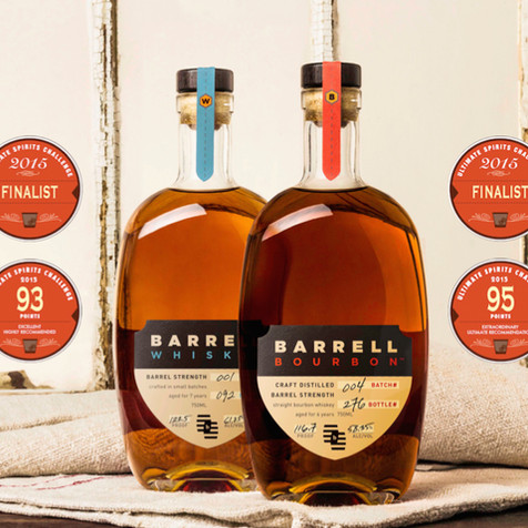AWARDS FOR BARRELL BOURBON