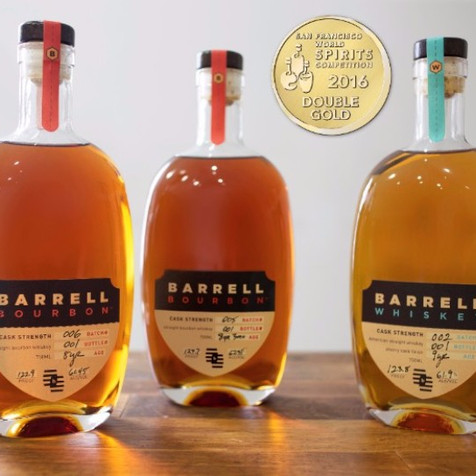 GOLD MEDALS FOR BARRELL BOURBON