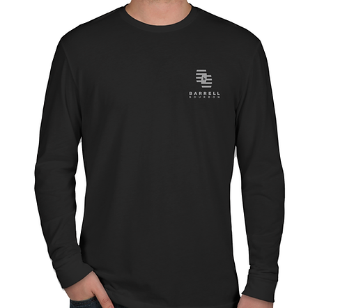Long Sleeve Black BCS Logo Tee