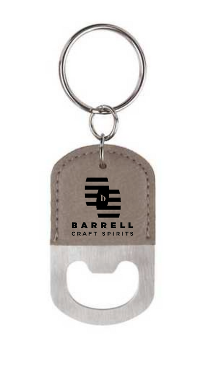 Barrell Bottle Opener Keychain