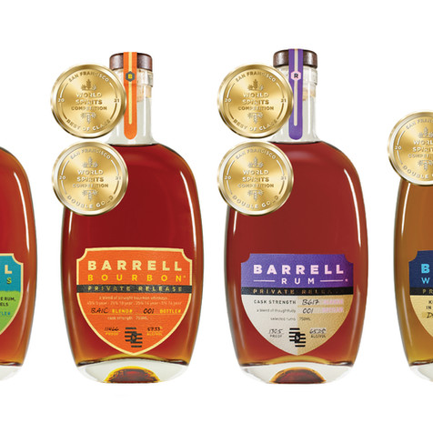 BARRELL WINS BEST IN CLASS AND DOUBLE GOLD AGAIN AT SAN FRANCISCO WORLD SPIRITS COMPETITION