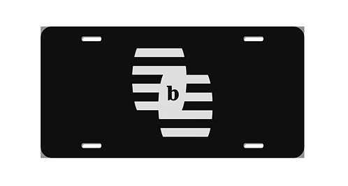 Barrell Bourbon License Plate