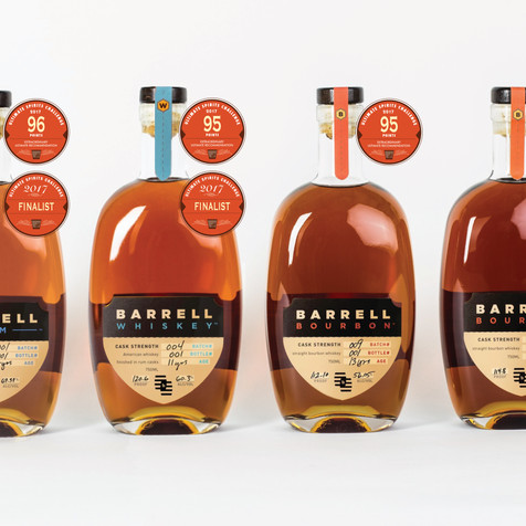 AWARDS FOR BARRELL BOURBON