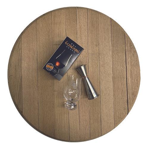 Barrell Glencairn Glass and Jigger Bundle