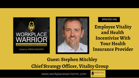 Stephen Mitchley: Incentivize Employee Vitality and Health