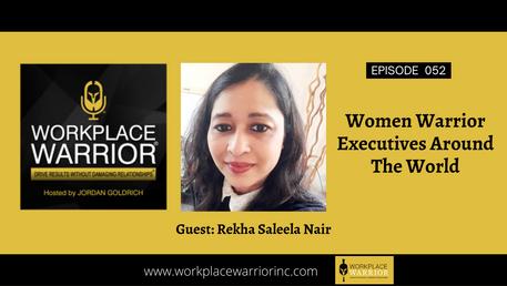 Rekha Saleela Nair: Women Warrior Executives Around The World