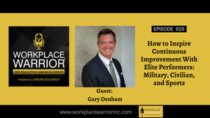 Gary Denham: How to inspire Continuous Improvement with Elite Performers