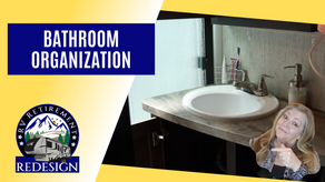 My RV Bathroom Organization