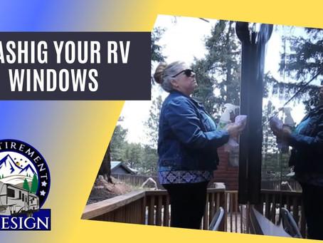 RV Window Washing
