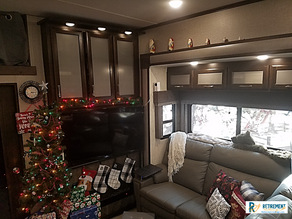 Our First RV Christmas!