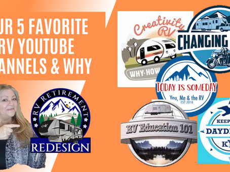 Our Top 5 Favorite RV YouTube Channels
