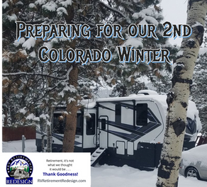 Preparing for our second Colorado Winter
