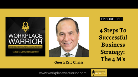 Eric Chriss: 4 Steps to Successful Business Strategy: The 4 M's