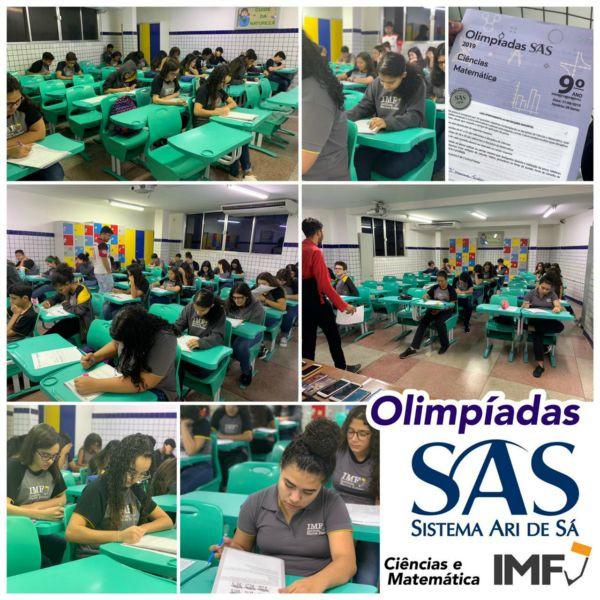 Olimpíadas SAS - 9º ano