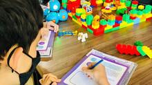 Aprender calcular área brincando é o máximo !