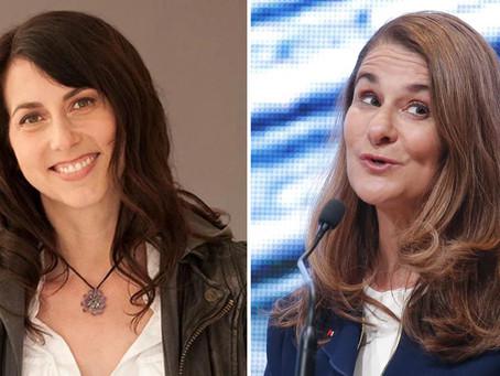 MacKenzie Bezos y Melinda Gates destinan 30 mdd para lograr la igualdad de género