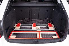 raxo skrzynia, skladanie w bagazniku - 8