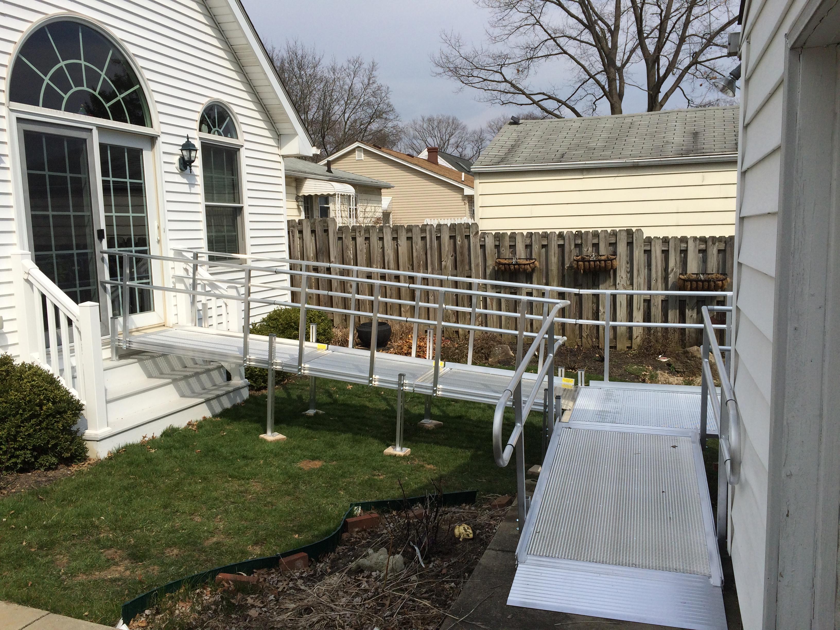 XM ramp at back door