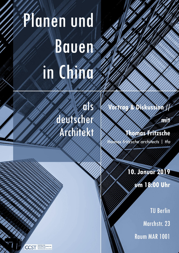 Planning and building in China as German architect