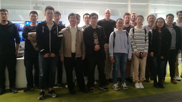 Tongji University in Shanghai and Beuth University of Applied Sciences in Berlin visit thomas fritzs