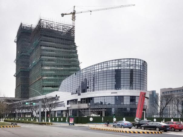 Construction Update: Tianjun Financial Centre Huaqiao, Jiangsu