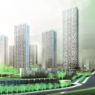 Jianing River Residential Area
