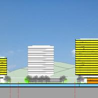Eco Park Mixd-Use Building